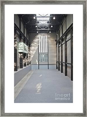 Turbine Hall Of Tate Modern Framed Print by John Harper