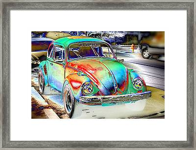 Turbo Bug Framed Print