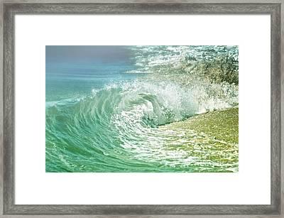 Turbulent Framed Print