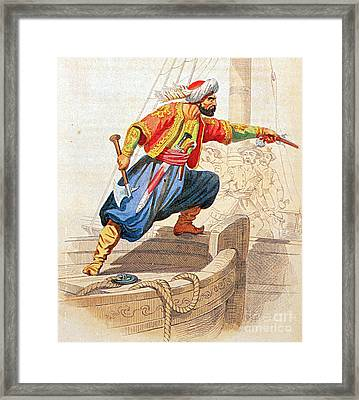 Turgut Reis, Ottoman Admiral Framed Print by Photo Researchers