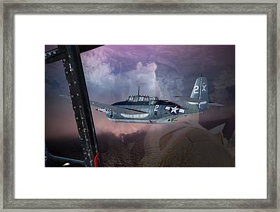 Turkey Driver Framed Print by Mike Ray