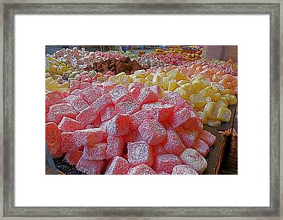 Turkish Delight Framed Print