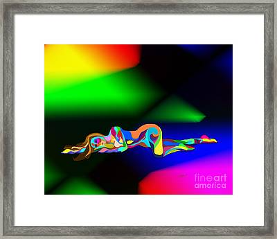 Turmoil Framed Print by Linda Seacord