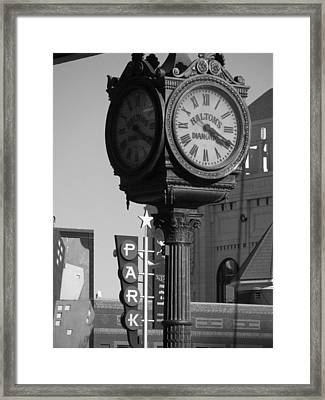 Turning Back Time Framed Print by Shawn Hughes