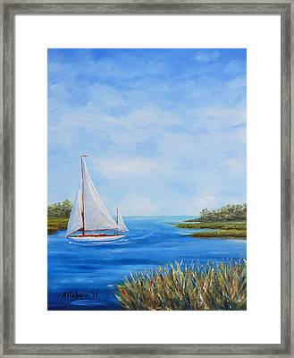 Turning In Framed Print by Stanton D Allaben