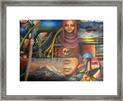 Turpenoid Framed Print by Jody Swope