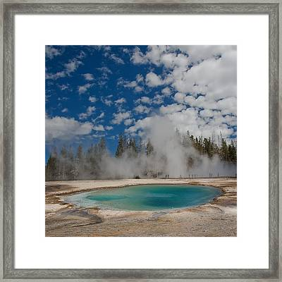 Turquoise Pool Framed Print by Amateur photographer, still learning...