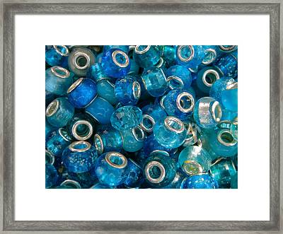 Turquoise Treasures Framed Print