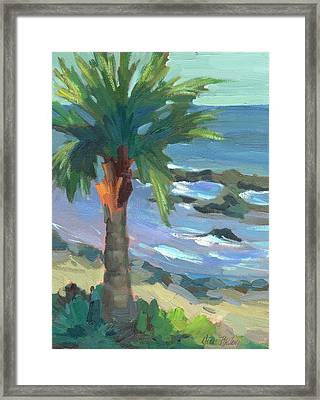 Turquoise Water Framed Print by Diane McClary