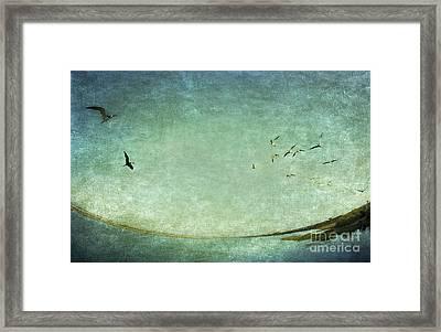 Turquoise World Framed Print