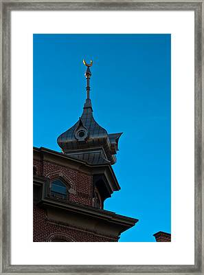 Framed Print featuring the photograph Turret At Tampa Bay Hotel by Ed Gleichman