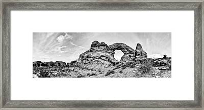 Turret Pano Framed Print by Chad Dutson