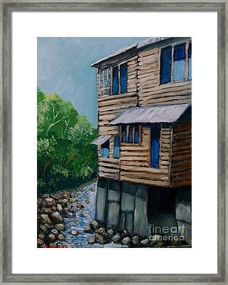 Turrialba's House Framed Print