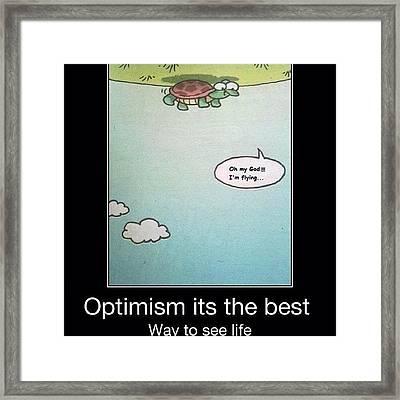 #turtle #upsidedown #flying Framed Print