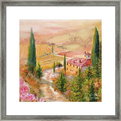 Tuscan Dream Framed Print