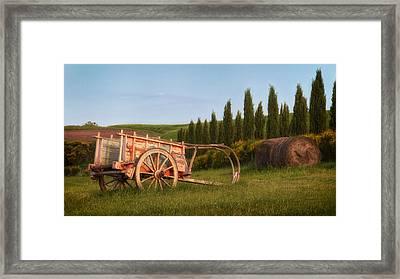 Tuscan Evening Framed Print by Daniel Sands