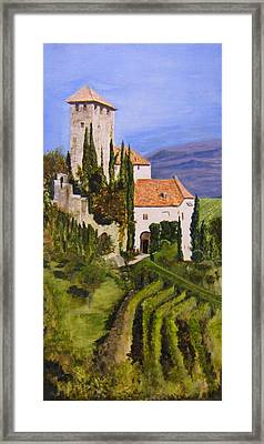 Tuscany 1 Framed Print