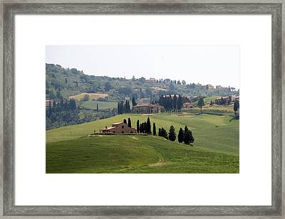 Framed Print featuring the photograph Tuscany by Carla Parris