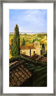 Tuscany Ll Framed Print