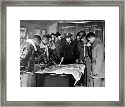 Tuskeegee, Alabama The U.s. Armys First Framed Print by Everett