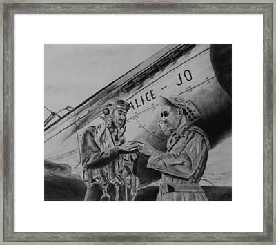 Tuskegee Airmen Framed Print by Brian Hustead