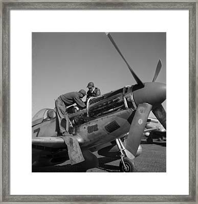 Tuskegee Airmen Marcellus G. Smith Framed Print by Everett