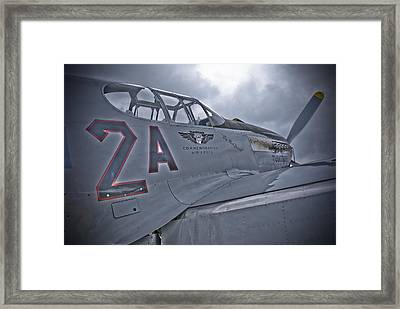 Tuskegee P-51 Framed Print by Eric Miller