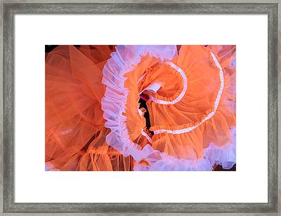 Tutu Swirls Framed Print by Denice Breaux