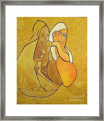 Tutu - Tu-two  Framed Print by Geoffrey Mann