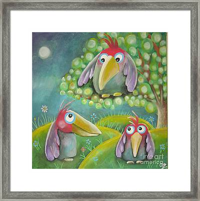 'tweet' Framed Print
