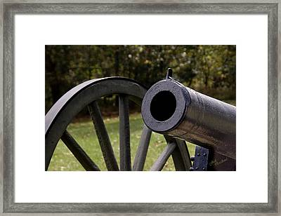 Twelve-pound Howitzer Framed Print