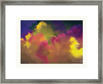 Twenty Clouds Framed Print