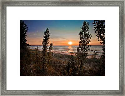 Twilight Desolation Framed Print