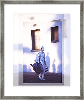 Twilight Going Home At Last Framed Print