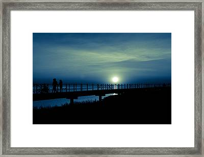 Framed Print featuring the photograph Twilight  by Jason Naudi Photography
