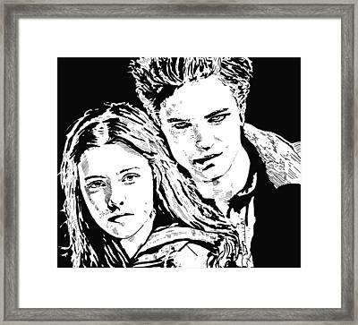 Twilight Framed Print by Lori Jackson
