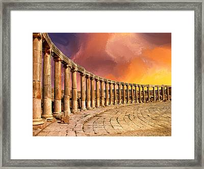 Twilight Of The Gods Framed Print by Dominic Piperata