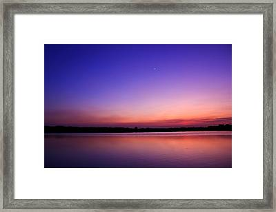 Twilight Time Framed Print by Natapol Chananuwong