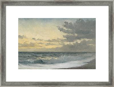 Twilight Framed Print by William Pye