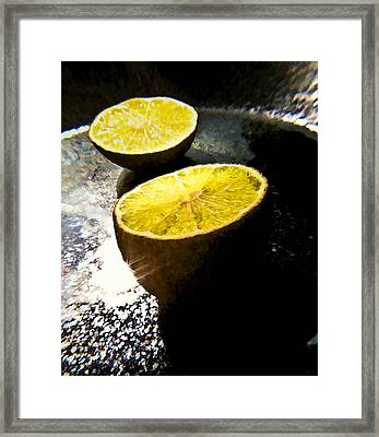 Twin Moons Framed Print by Joe Carini