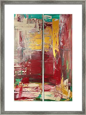 Twin Framed Print by Thomas Kleiner