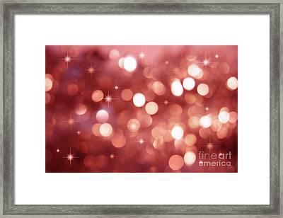 Twinkle Little Stars Framed Print