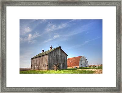 Twins Framed Print by David Bearden