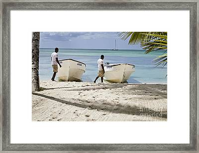 Twins Framed Print by Nacho Miyashiro