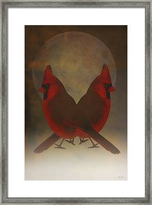 Twins Framed Print by Tom York Images