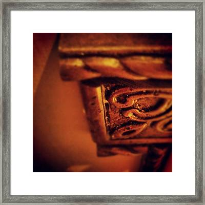 Twist Framed Print