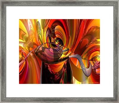Twisted Jester Fx  Framed Print by G Adam Orosco