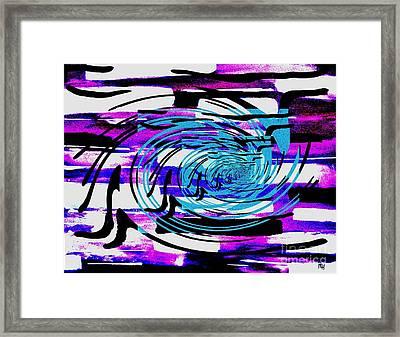 Twisted Framed Print by Marsha Heiken