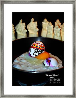 Twisted Rhymes Framed Print by Patrick Witz