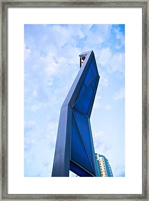 Framed Print featuring the photograph Twisted Strength by JM Photography